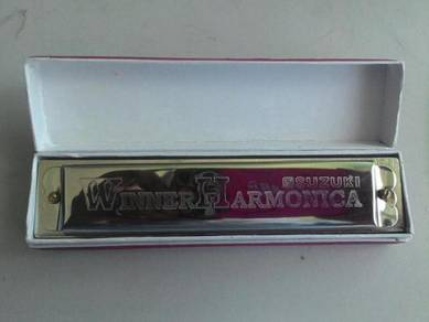 Suzuki Winner Harmonica Key C With 16 Holes