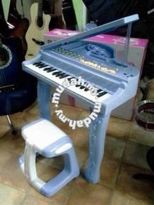 Piano Organ Blue (Junior) - With Plastic Stool