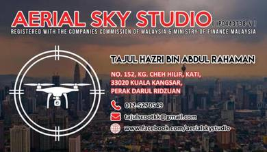 Drone Service / Drone Supplier / Aerial View / DJI