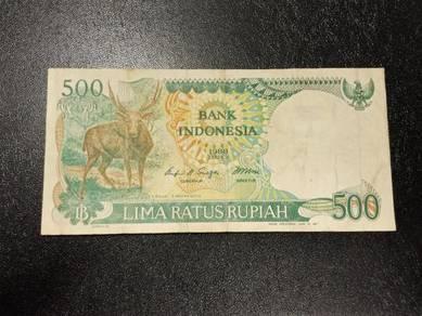 Wang INDONESIA 500 Rupiah No 12