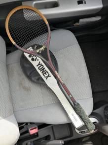 (B434) Rare Yonex Bamboo SQ 6000 Squash Racquet