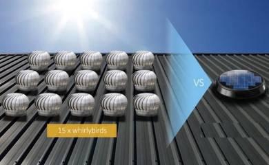 KS-12R FA Solar Power / Wind Turbine VENTILATOR US