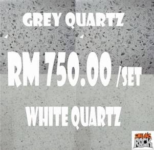 White/Grey Quartz Stone