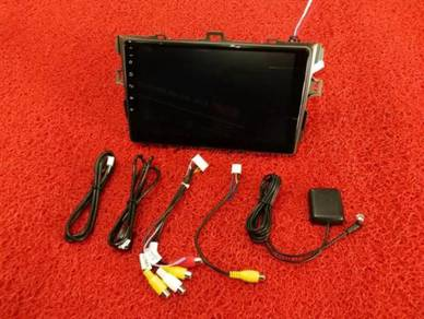 Toyota altis 08-13 android mirror link gps player