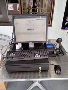 Mesin Cashier POS System Kaunter Cash Register 072