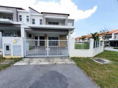Double Storey Corner Lot Ixora Superlink House Bandar Seri Coalfields