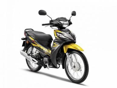 Honda Wave Alpha 110 -Facelft-Spoke- 90% Credit