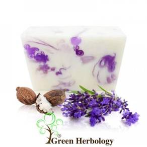 Shea Butter and Lavender Handmade Soap 80g