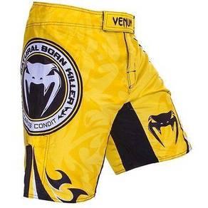 Venum UFC MMA yellow short Pant Gym Fitness