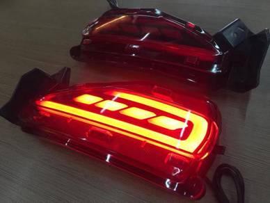 Toyota fortuner bumper led lamp light reflector