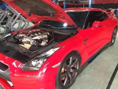 Nissan skyline GTR 35 SERVICE MAINTENANCE REBUILT