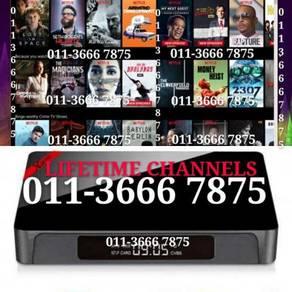 LIVETIME Android uhd Tv box 4K fullSTRO itpv