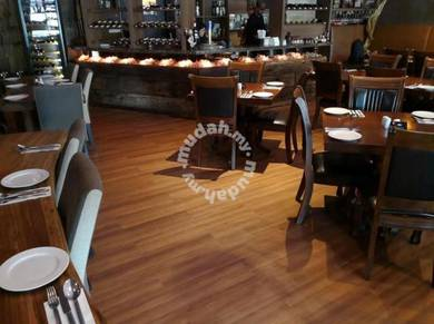 Vinyl Floor Lantai Timber Laminate PVC Floor Q245