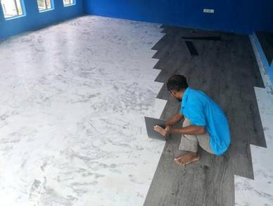 Vinyl Floor Lantai Timber Laminate PVC Floor Z241