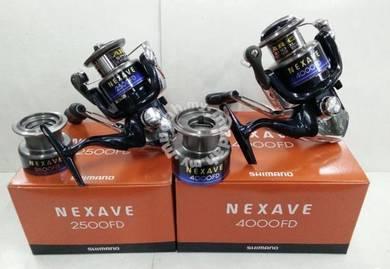 (NEW) SHIMANO NEXAVE FD 1000 - 4000 Fishing Reel