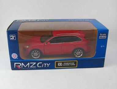 Kereta hiasan kecil merah Porsche cayenne turbo