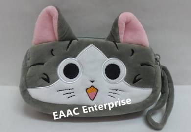 Cute Cartoon Chi's Cat Plush Pencil Box Case