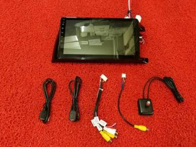 Toyota wish 03-08 android mirror link gps player 1