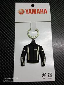 Yamaha Jacket Key Chain - Black