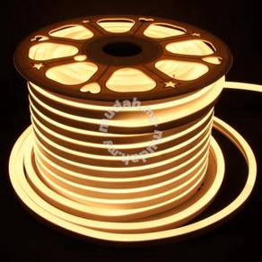 5 Meter Warm White Neon LED Strip With Adapter