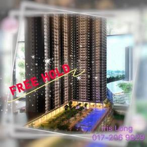 Sentul Center Luxury Condominiums, (FREEHOLD) ~ Walk to new MRT 2