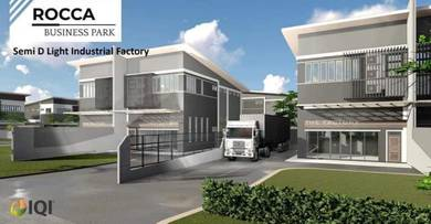 Spacious Light Industrial Factory at Batu Kitang open For Sale
