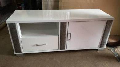 4 Ft High Gloss Hall Cabinet