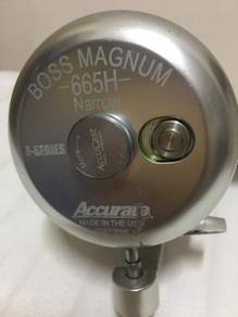 Fishing Reel ACCURATE Magnum BOSS B2-665H Narrow