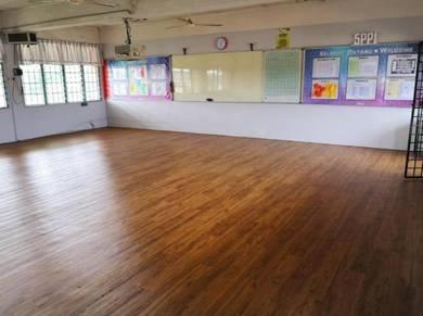 Vinyl Floor Lantai Timber Laminate PVC Floor Z238