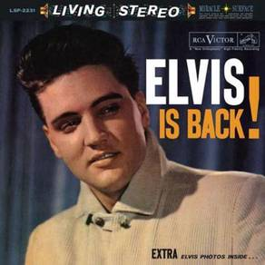 Elvis Presley Elvis Is Back 200g 45rpm 2LP