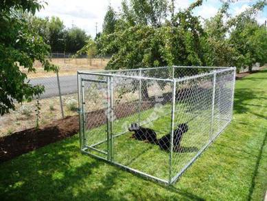 7.5 x 7.5 x 6ft Kennel