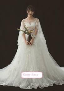 White wedding bridal prom gown dress RB0527