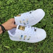 Superstar Embroidery Blue
