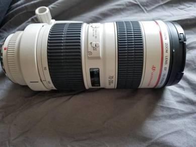 Canon 70-200mm f/2.8 L USM (non IS)