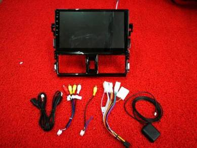 Toyota vios 13-18 android mirror link gps player 2
