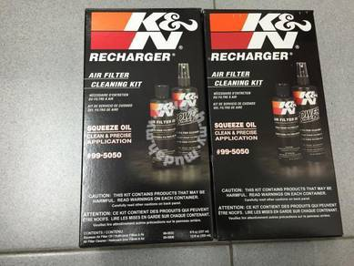 K&N Air Filter Recharger or Cleaner Kit 99-5050