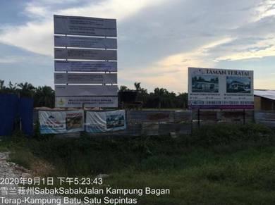 New Project Perumahan di Sabak Bernam