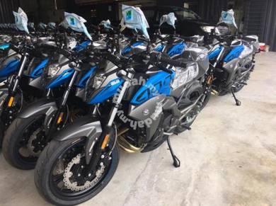 New KTNS NK400 ABS DUAL inline 2020