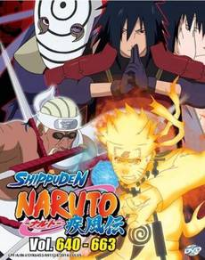 DVD ANIME NARUTO SHIPPUDEN Vol.640-663 Box Set 22