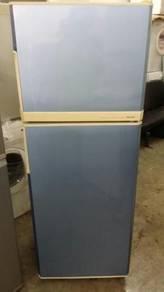 National Refrigerator Fridge Ice Blue Peti Ais
