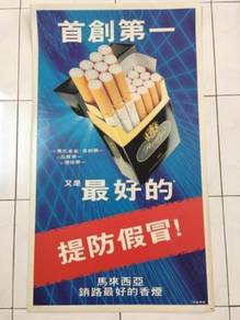 Perilly's Cardboard Papan Iklan Poster Signboard