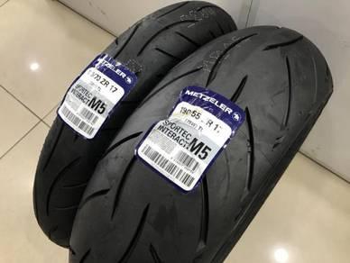 Metzeler Sportec M5 Tyre For Superbike