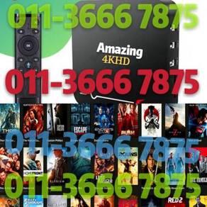 U4K L1FETIME Tv Android HD box fullSTR0 iptv