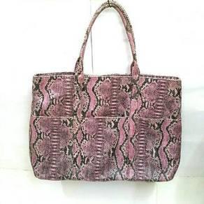 BCBG Max Azria Snake Skin Print Bag
