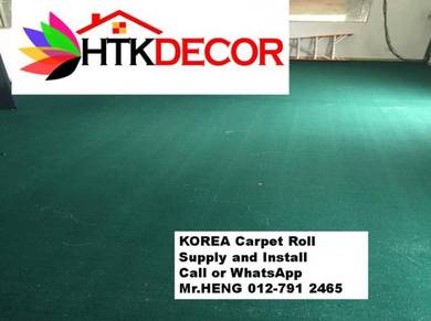 The best carpets roll with installation 170KT