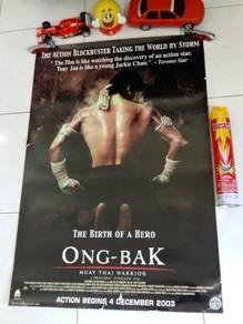 Poster Original ONG BAK: MUAY THAI WARRIOR 2003