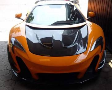 Mc laren mp4-12c 650s 2011-2014 armytrix exhaust