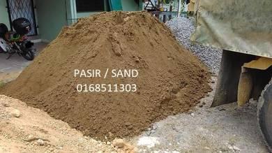 Sand Pasir topsoil batu tanah timbus