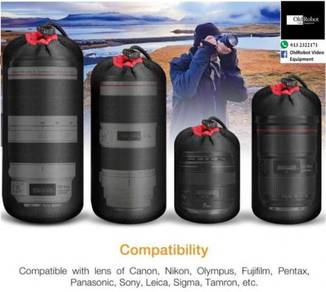 Brand New 4 Size Lens Pouch (S, M, L & XL)