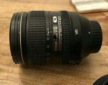 Nikon Nikkor 24-120mm F4